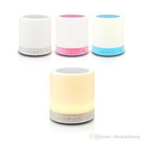 Wholesale Lamp Rice - Hi-Rice SD-128 Portable Smart Light Lamp Bluetooth MIC Speaker For Handfree call