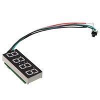 Wholesale Led Digital Clock For Car - Wholesale- AUTO LED Digital Clock For 24 Hours Car MOTO Adjustable 7-30V DC Green