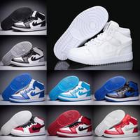 Wholesale New Fashion Fabrics - 2017 New Air Retro 1 OG Men Basketball Shoes Rare Air high quality fashion Retro 1s Men Sports shoes Trainer Sneakers eur 41-46