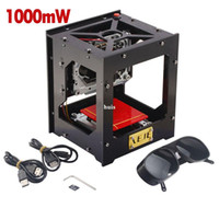 machine d'impression de timbres achat en gros de-Freeshipping 1000mW DIY USB Graveur Au Laser Cutter Stamp Machine De Gravure Laser Sculpture Machine Imprimante Pour Win7 / Win8 / XP / Win10