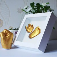Подарки Keepsakes Handprints Footprints Baby Hands Amp Foot 3D DIY штукатурка Casting Mini Kit Kids Gifts