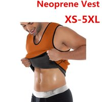Wholesale Body Slimming Corset Men - Neoprene Running Vests 2017 Mens Hot Shaper Slimming Vest Sport Ultra Sweat Two Side Body Shaper Corset for Posture Waist Trainer