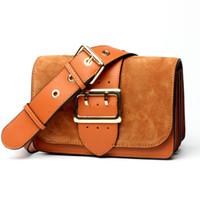 новые матовые сумки оптовых-Новый европейский и американский стиль орган Сумка женская одно плечо кожаные сумки новый матовый сумка