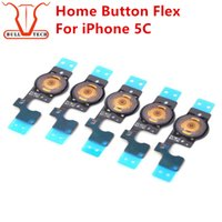 Home Button Fex Cable per iPhone 5c Pulsanti Home Button Cavi Flex Cambia Key Cavo Ricambio Sostituzione Ricambio per iphone 5 c