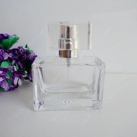 Wholesale Travel Perfume Atomizer Sale - 100PCS Sale New Transparent Glass Spray Bottle 30ML Refillable Perfume Bottle Travel Perfume Atomizer With DHL Free Shipping PT176-30ML.