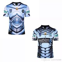 NEU 2016-2017 SHARKS RUGBY Trikot Cronulla 17 18 home away Top Thailand Qualität Super Rugby RWC NRL Kit Outdoor Sport Shirts Trikots