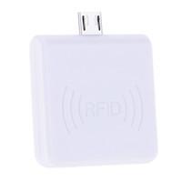 Wholesale Em Proximity Card - Wholesale-Mini Portable RFID 125KHz Proximity Smart EM Card USB ID Card Support Reader Win8 Android OTG SmartPhone R65D