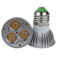 ingrosso la migliore qualità ha condotto le lampadine-migliore qualità CREE ha condotto la lampada 3W Dimmable GU10 MR16 E27 GU5.3 ha condotto le lampadine della luce del riflettore della lampadina del punto del riflettore