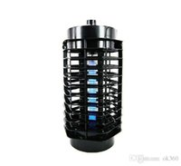 Lámpara Eléctrica Al Aire Libre Baratos-110V 220V Electric Mosquito Bug Zapper Asesino LED Linterna Fly Catcher Flying Insect Patio al aire libre Camping lámparas