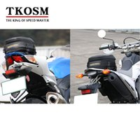 Wholesale TKOSM Hot Sale Time limited Bag Motorcycle Rough Road RR9018 Package Motorcycle Rear Bag Retro Seat Tail Pack Riding