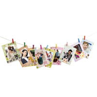 Wholesale Wall Hanging Photo Album - 6 Inch Creative Gift DIY Home Decor Office Photo Frame Wall Hanging Paper Photo Frame Wall Picture Album House Decor Gift
