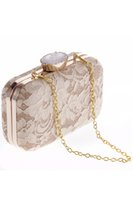 Wholesale Clutch Bags Shinny - Shinny Bling Diamonds Champagne Bridal Hand Bags 2017 Hot Style Fashion Women Clutch Bags For Party Evenings CPA954