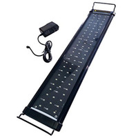 Wholesale Led Saltwater Aquarium - LED Aquarium Hood Lighting Fish Tank Light for Freshwater and Saltwater, Blue and White Light, 24 to 34 inch, 10W