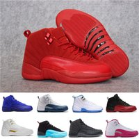 Air retro 12 12s hommes basket-ball chaussures ovo blanc Rouge Suede Deep bleu royal grippe solaire jeu GS Barons TAXI playoffs espadrilles