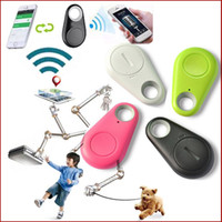 Wholesale Via Gps - Mini Smart Finder Bluetooth Tracer Pet Child GPS Locator Tag Alarm Wallet Key Tracker for Anti-lost Selfie Shutter via DHL