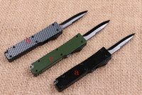 Wholesale Outdoor Tech - HOT sale MICRO TECH troodon tactical survival automatic knives outdoor camping EDC POCKET knife 440 blade Zinc aluminum alloy handle