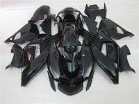 Wholesale kawasaki zx14r - Injection molded 100% fit for Kawasaki Ninja ZX14R 06 07 08-11 black fairings set ZX14R 2006-2011 OT17