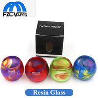 ingrosso grande globo-Cappucci di ricambio per tubi di vetro colorati in resina per SMOK TFV8 TFV12 TFV8 Big Baby X Vaschette per neonati Confezione singola
