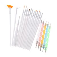 Wholesale Set Hot Sale Design Painting Dotting Detailing Nail Art Pen Brushes Bundle Tool Kit Set Nail Brush Set Nail styling tools