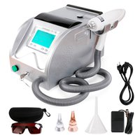 """Wholesale Switch Back - ND YAG Q-Switch Laser Tattoo Removal Machine Clearance Speckle Back Naevus Fleck 0-1300mj 5.4""""botton Screen LR201"""