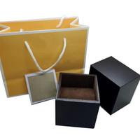komple kutu seti toptan satış-Moda Lüks Saatler kutusu Tüm mic-k Lüks Saatler kutusu için Uygun, Komple set Saatler kutusu + İngilizce Talimatları + Hediye çantası, Toptan