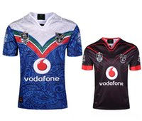 Wholesale Best Stock Shorts - New in stock 2017 best quality rugby shirts Free shipping WARRIORS NRL 2017 Home Rugby jerseys blue away size S - 3XL