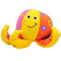 Wholesale Octopus Plush Animals - Wholesale- BOHS Plush Toy Octopus Baby Rattle,20cm