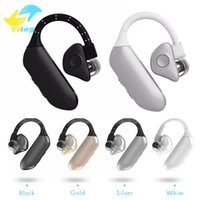 Wholesale Earphones For Watch Phone - Bluetooth V4.0 WIRELESS Q8 Earphone In Ear Earbuds HIFI Earphones&Headphone With Mic For Phone PC Tablet Smart Watch