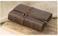 Wholesale LY PA005 handmade genuine leather photo albums photo collection photo notebook