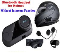 ingrosso bt casco auricolare-Cuffia stereo del motociclo del motociclo di Handfree del motociclo di FreedConn Bluetooth impermeabile Cuffie caschi del motociclo senza fili di Bluetooth BT Cuffie