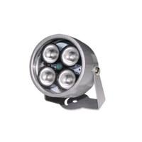 luces de vigilancia infrarrojas al por mayor-cctv 4 array IR led iluminador CCTV de luz IR infrarrojo de visión nocturna para cámara de vigilancia Impermeable iluminador de 40m Fill Assist