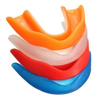 Wholesale Mouth Protectors - Professional Fitness Sports Mouthguard Mouth Guard Teeth Protector For Boxing MMA Football Basketball Karate Muay Thai Safety
