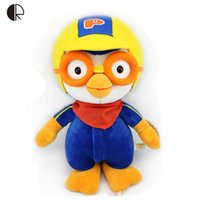 Wholesale Doll Pororo - Wholesale-Pororo Plush Toys Plush Dolls Kawaii Penguin Model 40CM Anime Pororo Figure Toys Best Gift For Children Drop Shipping HT2481