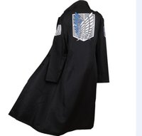 Wholesale attack on titan online - Kukucos Anime Attack On Titan Cosplay Cloak Costume Free Wing Cape Clothing Halloween Party Dress Up
