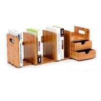 Wholesale Office Magazine Rack - Multifunction Desktop Storage Rack DIY Magazine Holders Child Book Shelves Office Shelf Document Management Racks ZA3131