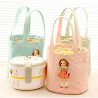 Vente en gros - New Sweety Sac à lunch isolé mignon Cooler Travel Outdoor Picnic Box Container Tote
