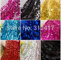 Cotton spangle fabric - 10m mm round embroidered sequin fabric white silver black red royal blue turquoise pink yellow spangle sequin fabric