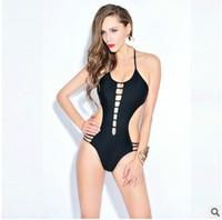 Wholesale Spider S Web - 2017Europe and the United States new sexy Siamese swimwear women hollow spider web was thin Slim hot spring womens swimwear bikini 66083