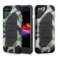 Wholesale Iphone 5s Armor Bumblebee - For LG G6 MOTO G5 Camouflage Bumblebee Hybrid TPU PC Armor Phone Case Cover For Iphone 7 6s 6 plus 5S Samsung S8 plus J7 J5 2017
