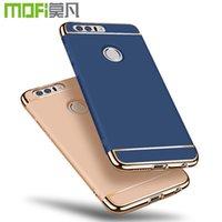 Wholesale Mofi Bag - Mobile Phone Accessories Parts Mobile Phone Bags Cases Huawei honor 8 case MOFi original Huawei honor 8 cover hard back case luxury