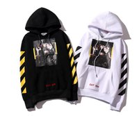 Wholesale Male White Coat - OFF WHITE C O Hoodies Men Women Brand Clothing Religious Outerwear Coats Hip Hop Skateboard Male Hooded Sweatshirts