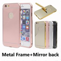 Cheap For Samsung mirror cover Best Plastic Silver mirror case