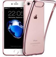 iphone 5s tampon kasası açık toptan satış-IPhone 7/7 Artı iPhone 6/6 Artı iPhone 5 / 5s, ESR Temizle Yumuşak TPU Kaplama Çerçeve Parlak Parlak Metal Boyama Tampon Arka Kapak