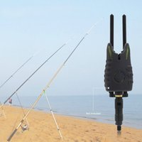 Wholesale Carp Fish Bite - Black Aluminium Alloy Connect With Bite Alarms Windproof Windshield Anti Falling Snag Bar Carp Fishing Tackle