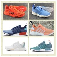 Unisex sports packers - Hot Sale New Style Mesh NMD Packer Running Shoes Cheap Man Women NMD Runner R1 R2 Sports Boost Trainer Sneakers With Box Size US5