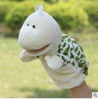Wholesale Tortoise Hand Puppet - Animal Plush Hand Puppets Dolls Children Soft Puppets Toy Brinquedo Marionetes Fantoche tortoise