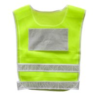 Wholesale Hi Visibility - Car Motorcycle Reflective Safety Clothing High Visibility Safety Reflective Hi Viz Vest Warning Coat Reflect Stripes Tops Jacket