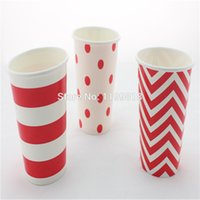 Wholesale Halloween Paper Cup - Wholesale- Free Shipping!!! 36 pcs lot disposable party drinking cup wedding paper cup for baby shower birthday party Halloween