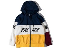 Wholesale Cotton Hoodie Multi Color - off white Hoodies Men Women Cotton kanye yeezus Skateboards Patchwork Environmental Protection Sweatshirt Brand palace Hoodie