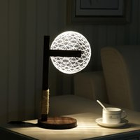 Wholesale Home Furnishings Office - Home furnishings, bedroom lighting, night light, student   office table lamp, home gifts, 3DLED lighting, adjustable lamp.